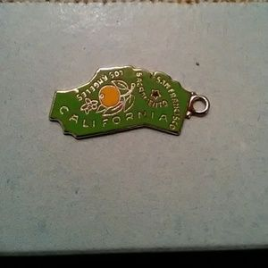 Jewelry - STERLING CALIFORNIA CHARM!